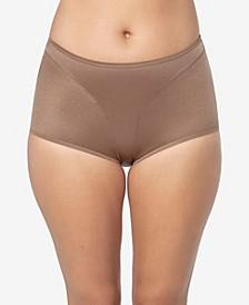 Women's  Light Tummy-Control Hi Cut Thong-Silhouette Panty 01214