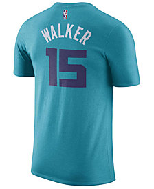Nike Men's Kemba Walker Charlotte Hornets Name & Number Player T-Shirt