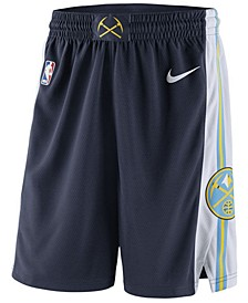 Men's Denver Nuggets Icon Swingman Shorts
