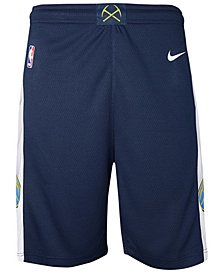 Nike Denver Nuggets Icon Swingman Shorts, Big Boys (8-20)
