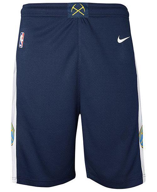 Macys Furniture Outlet Denver: Nike Denver Nuggets Icon Swingman Shorts, Big Boys (8-20