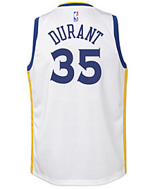 Nike Kevin Durant Golden State Warriors Association Swingman Jersey, Big Boys (8-20)