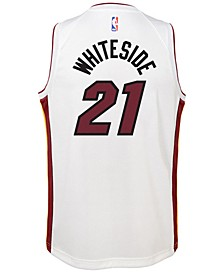 Hassan Whiteside Miami Heat Association Swingman Jersey, Big Boys (8-20)
