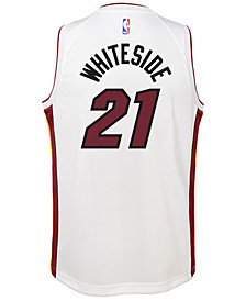 Nike Hassan Whiteside Miami Heat Association Swingman Jersey, Big Boys (8-20)
