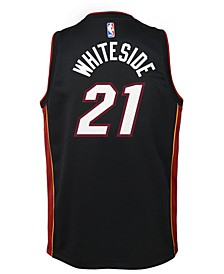 Hassan Whiteside Miami Heat Icon Swingman Jersey, Big Boys (8-20)