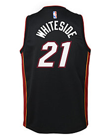 Nike Hassan Whiteside Miami Heat Icon Swingman Jersey, Big Boys (8-20)