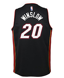 Nike Justise Winslow Miami Heat Icon Swingman Jersey, Big Boys (8-20)