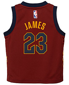 Nike Lebron James Cleveland Cavaliers Icon Replica Jersey, Infants (12-24 Months)