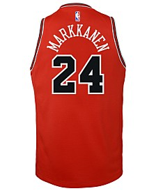Nike Lauri Markkanen Chicago Bulls Icon Swingman Jersey, Big Boys (8-20)