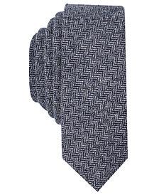 Original Penguin Men's Rayor Herringbone Skinny Tie