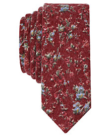 Original Penguin Men's Ward Floral Skinny Tie