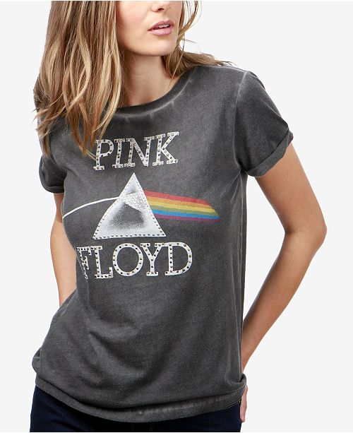 974443ace2bbe3 Lucky Brand Pink Floyd Graphic T-Shirt   Reviews - Tops - Women - Macy s