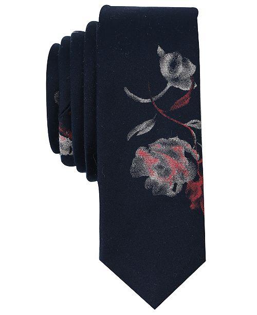 Original Penguin Men's Kestrel Floral Skinny Tie