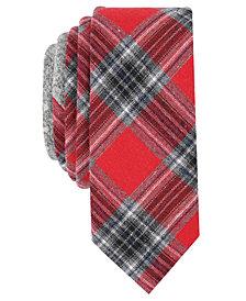 Original Penguin Men's Mallard Plaid Skinny Tie