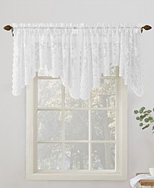 "Alison 58"" x 32"" Rod-Pocket Window Valance"