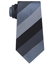 Kenneth Cole Reaction Men's Jupiter Stripe Silk Tie