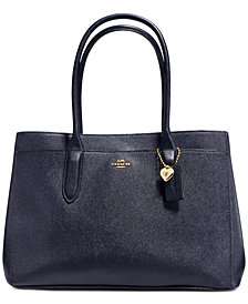 COACH Bailey Carryall Tote in Pebble Leather