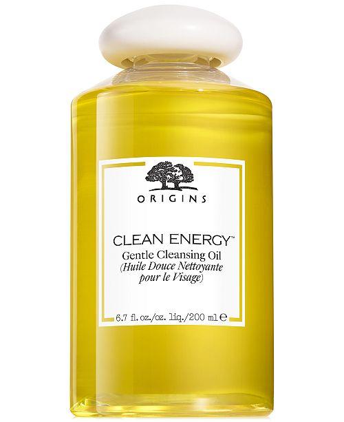 Origins Clean Energy Gentle Cleansing Oil 6.7 oz.
