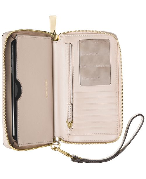 08db5faedeea Michael Kors Mercer Large Flat Multi-Function Phone Case & Reviews ...