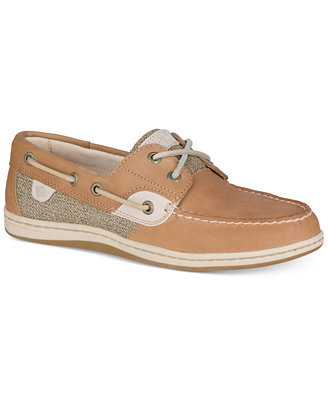 Sperry Women S Koifish Tweed Boat Shoes Flats Shoes