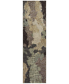 "Oriental Weavers Evolution Theo 2'3"" x 8' Runner Area Rug"