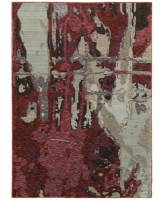 "Evolution Paise 1'10"" x 3'2"" Area Rug"