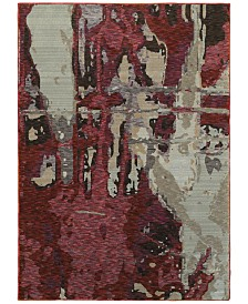 "JHB Design  Evolution Paise 5'3"" x 7'3"" Area Rug"