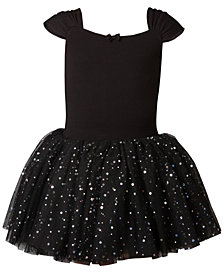 Flo Dancewear Embellished-Tutu Leotard, Little Girls & Big Girls