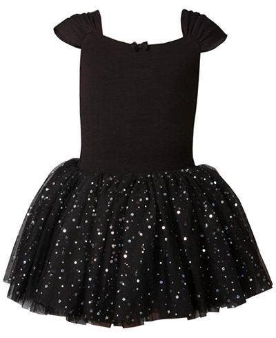 Flo Dancewear Embellished-Tutu Leotard, Little Girls & Big Girls