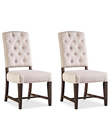 Madelen Side Chair (Set Of 2), Quick Ship