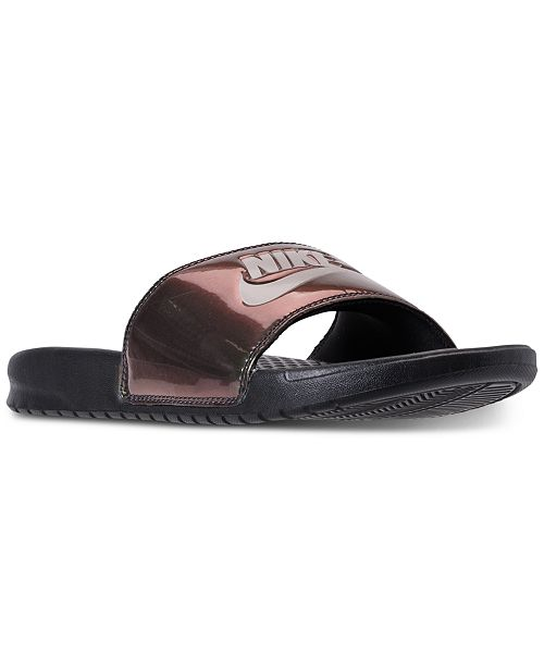 9783ea53b8aa Nike Men s Benassi Just Do It-Print Slide Sandals from Finish Line ...
