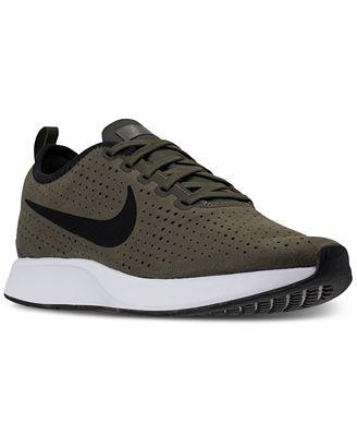 Nike Men's Dual tone Racer Premium Casual Sneakers