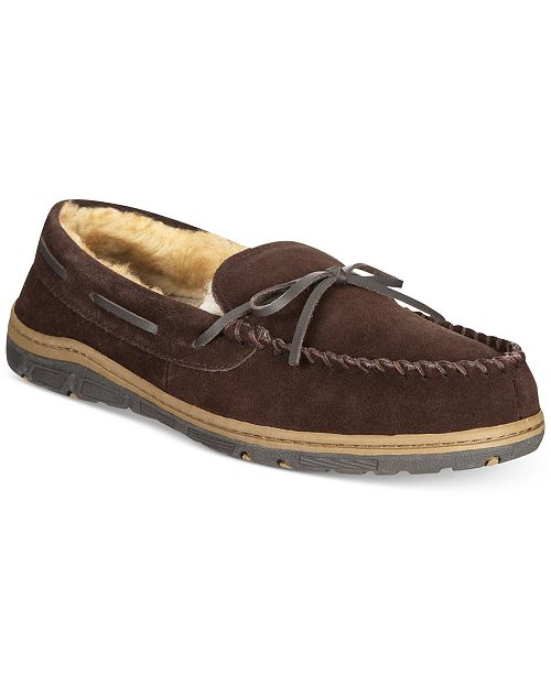 a55a47d26cb Rockport Men s Bow Moccasin Slippers   Reviews - All Men s Shoes ...