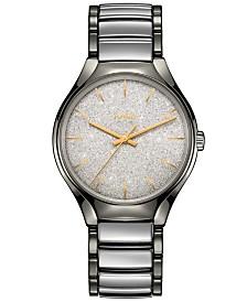 LIMITED EDITION Rado Unisex Swiss Automatic True Blaze Stainless Steel & High-Tech Ceramic Bracelet Watch 40mm - Limited Edition