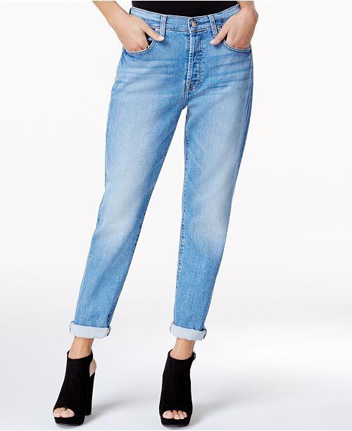 981eecd0aaeff 7 For All Mankind High Waist Josefina Boyfriend Jeans & Reviews ...
