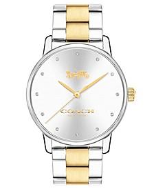 Women's Two-Tone Stainless Steel Bracelet Watch 36mm