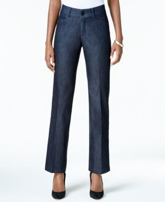 Lee Platinum Plus Size Total Freedom Madelyn Denim Trousers ...