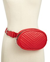 86673aa824c Steve Madden Chevron Quilted Fanny Pack