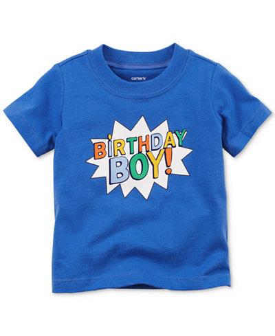 Carter's Birthday Boy Cotton T-Shirt, Baby Boys