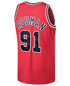 Mitchell & Ness Men's Dennis Rodman Chicago Bulls Hardwood Classic Swingman Jersey