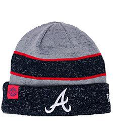 New Era Atlanta Braves On Field Sport Knit Hat