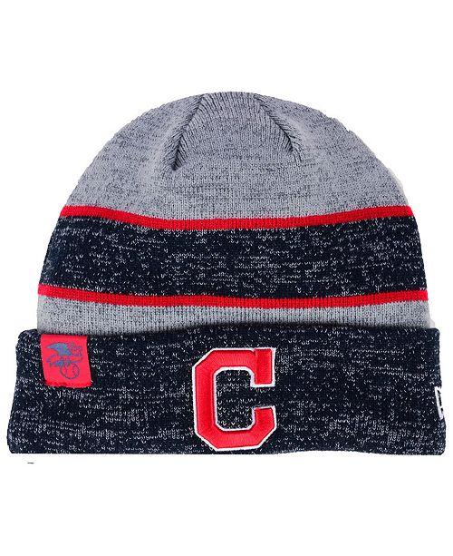 New Era Cleveland Indians On Field Sport Knit Hat - Sports Fan Shop ... 1255eee22f19