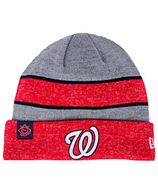 New Era Washington Nationals On Field Sport Knit Hat