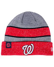 New Era Washington Nationals On Field Sport Knit Hat