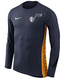 Nike Men's Utah Jazz Hyperlite Shooter Long Sleeve T-Shirt