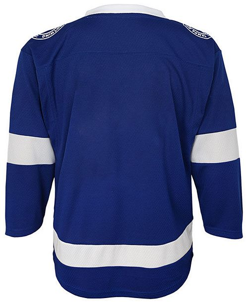detailed look c875a 7f7e1 Tampa Bay Lightning Blank Replica Jersey, Little Boys (4-7)