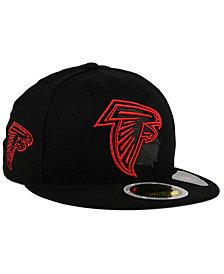 New Era Atlanta Falcons State Flective Metallic 59FIFTY Fitted Cap