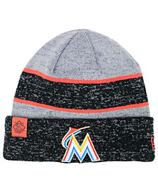 New Era Miami Marlins On Field Sport Knit Hat
