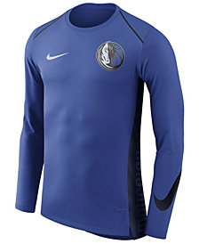 Nike Men's Dallas Mavericks Hyperlite Shooter Long Sleeve T-Shirt