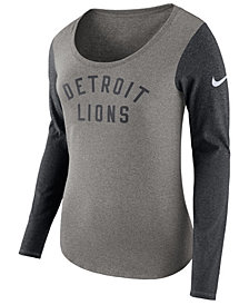 Nike Women's Detroit Lions Arch Long Sleeve T-Shirt